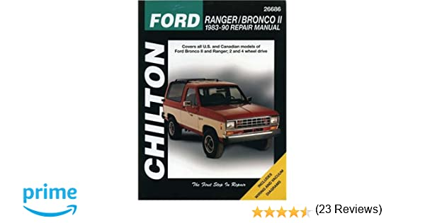 Ford rangerbronco ii 1983 90 repair manual chiltons total car ford rangerbronco ii 1983 90 repair manual chiltons total car care repair manual todd w stidham 0035675081597 amazon books fandeluxe Choice Image