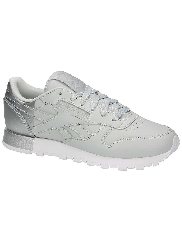 Reebok Classic Leather Matte Shine Donna Sneaker Grigio