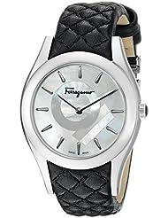 Salvatore Ferragamo Womens FG4060014 LIRICA Analog Display Quartz Black Watch