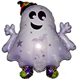 36'' SNEAKERS THE GHOST BALLOON - Amazing New HOVERING ANTI-GRAVITY TOY - Free Floating, Flying Halloween Party Favor