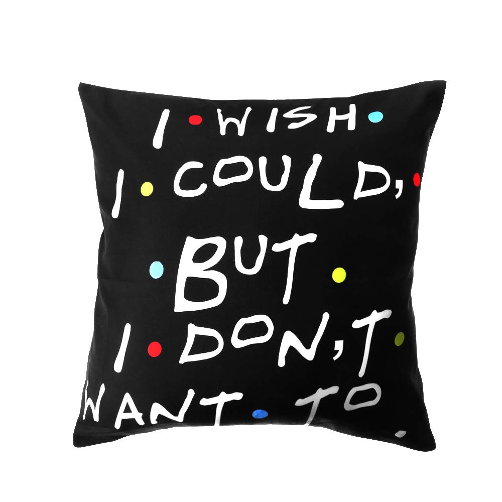 MetalDZ 18x18 inch Classic Printed Home Decor Polyester Friends TV Show Pillow Cases Pillow Covers Cushion Cover 1