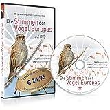 Die Stimmen der Vögel Europas auf DVD: 500 Artporträts - 1.713 Rufe und Gesänge - 1.962 Einzelsonagramme