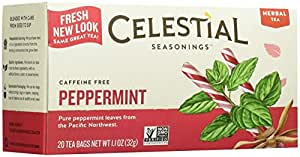 Celestial Seasonings Peppermint Tea Bags - 20 ct