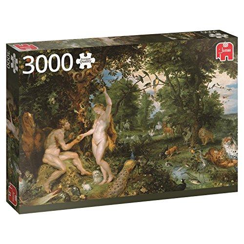 Jumbo Rubens: Garden of Eden Jigsaw Puzzle (3000 Piece) -