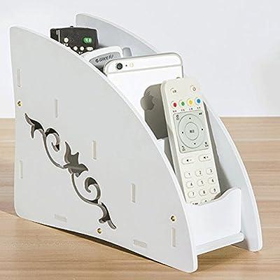 Mando a distancia organizador, homring madera Metal TV Control ...