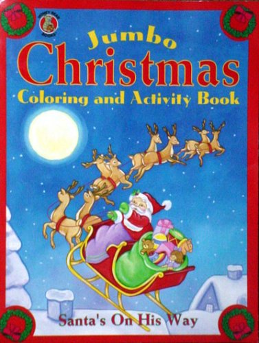 Jumbo Christmas coloring and Activity Book