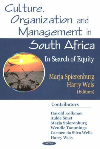 Culture, Organization, And Management In South Africa: In Search Of Equity by Brand: Nova Science Pub Inc