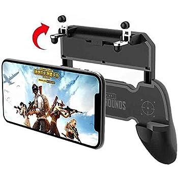 COOBILE Mobile Game Controller for PUBG Mobile Controller L1R1 Mobile Game Trigger Joystick Gamepad for 4-6.5