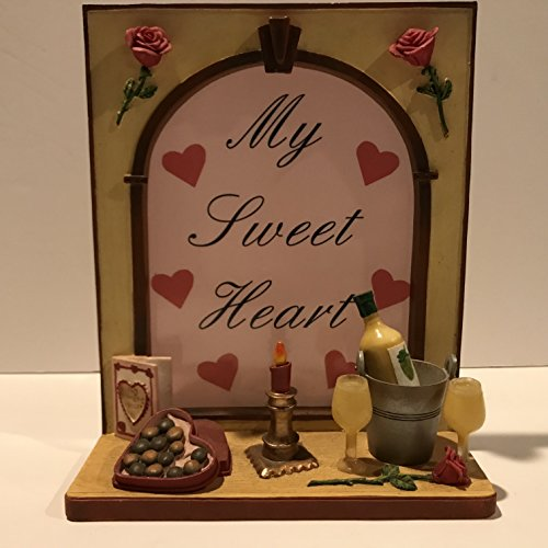 Our America Windows of Our America Sweet Heart Votive Holder-Special Valentine's Day Gift