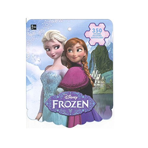 Disney Frozen Sticker Book for Kids (featured Elsa, Anna, Olaf, and Kristoff, over 350 stickers)-1 PACK]()
