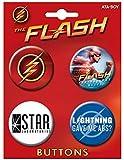 Ata-Boy The Flash on CW Set of 4 1.25