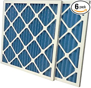US Home Filter SC40-16X30X1-6 MERV 8 Pleated Air Filter Pack of 6 16 x 30 x 1 16 x 30 x 1 Midwest Supply Inc