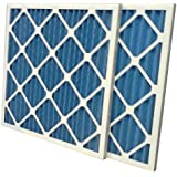 US Home Filter SC40-18X24X1 MERV 8 Pleated Air Filter (12 Pack), 18 x 24 x 1
