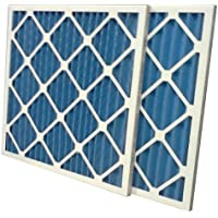 US Home Filter SC40-16X16X1-6 MERV 8 Pleated Air Filter (Pack of 6), 16 x 16 x 1