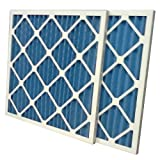 US Home Filter SC40-14X18X1-6 MERV 8 Pleated Air Filter (Pack of 6), 14' x 18' x 1'