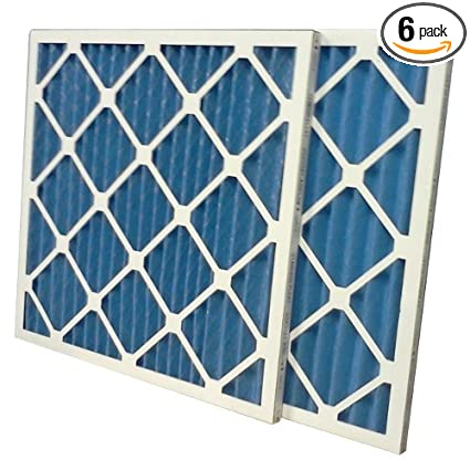 us home filter sc40-14x14x1-6 merv 8 pleated air filter (pack of 6 ...