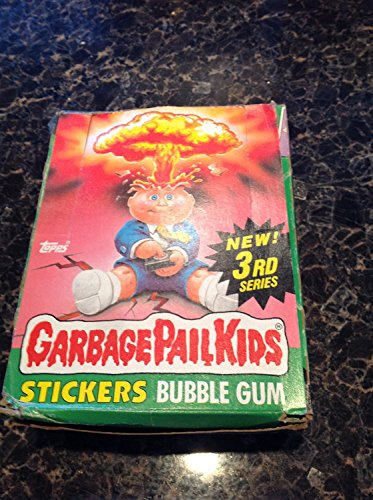 Topps Garbage Pail Kids 3rd Series Box of 48 Ct Unopened Packs Stickers/bubble Gum