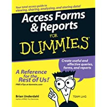 Access Forms & Reports for Dummies (English Edition)