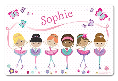Personalized Placemat Craft Mat Ballerina