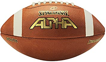 Spalding Alpha Leather Football 72-675-P