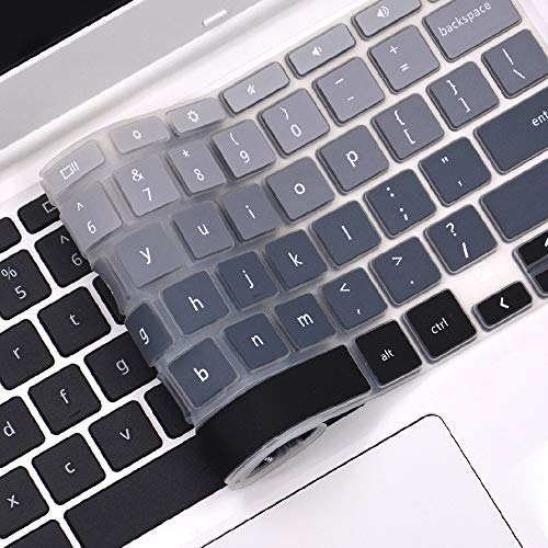 Keyboard Cover Compatible 2019/2018 Lenovo Chromebook C330 11.6/Lenovo Flex 11 Chromebook/Lenovo Chromebook N20 N21 N22 N23 100e 300e 500e 11.6/Lenovo Chromebook N42 N42-20 -Ombre Gray