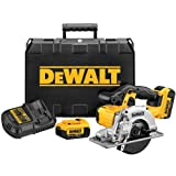 20-Volt Max (4.0 Ah) 5-1/2 in. Cordless Metal Cutting Circular Saw Kit (DCS373M2)