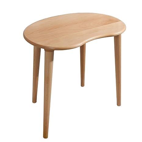 YNN Table Mesa pequeña de Madera Maciza Sofá Mesa Auxiliar ...