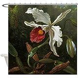 "CafePress - Cattleya Orchid Shower Curtain - Decorative Fabric Shower Curtain (69""x70"")"