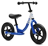 Critical Cycles Cub No-Pedal Balance Bike for Kids, Royal Blue