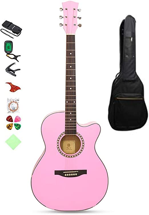 BAIYING-Guitarra Acústica Guitarra Clasica, Principiante Guitarra ...