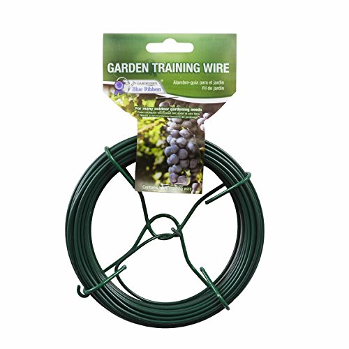 Gardener's Blue Ribbon T025B Garden Training Wire Roll, ()