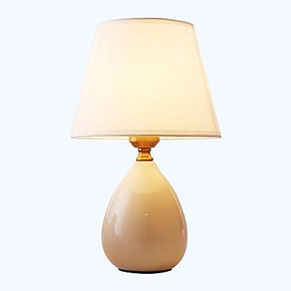 Lámpara de Mesa Global cerámica pequeña Lámpara de Porcelana ...