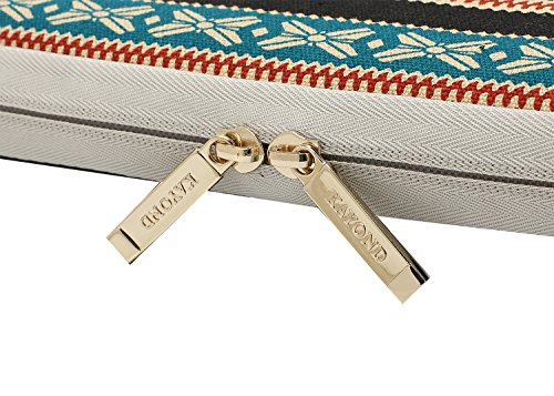 Kayond Canvas Water-Resistant 13 inch Laptop Sleeve -13 inch 13.3 inch Laptop case,12.9 inch Tablet Case Compatible MacBook(13-13.3 inches, New Bohemian) by kayond (Image #7)