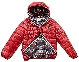 Marvel Spiderman Boys Ultralight Red Jacket (5, Red)