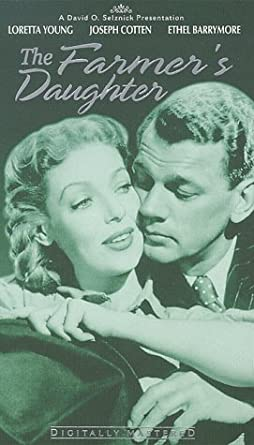 The Farmer's Daughter (1947) [VHS]