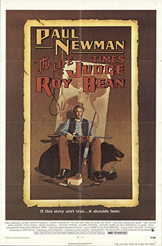 The Life and Times of Judge Roy Bean 1972 Authentic 27