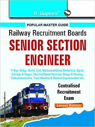 buy rrb senior section engineer p way bridge works civil