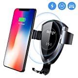 Wireless Car Charger, Richgv Fast Qi Wireless Charging Gravity Car Mount Air Vent Phone Holder, 10W Fast Charger for Samsung Galaxy S9/S9+ Plus/S8/S8+, 5W Charger for iPhone X/8/8 Plus and others