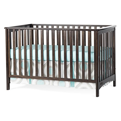 Childcraft London 3-In-1 Traditional Crib - Slate