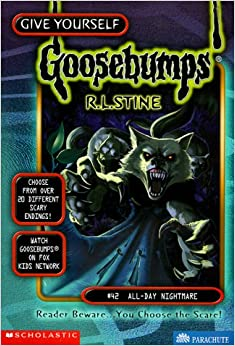 All day nightmare give yourself goosebumps r l stine - Goosebumps werewolf in the living room ...