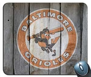 Custom Baltimore Orioles 06 Mouse Pad g4215 by kobestar