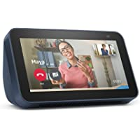 All-new Echo Show 5 (2nd Gen, 2021 release)   Smart display with Alexa and 2 MP camera   Deep Sea Blue