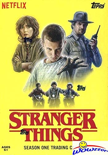 2018 Topps Stranger Things EXCLUSIVE HUGE Factory Sealed Blaster Box with 70 Cards & PATCH RELIC! Look for Autographs, Sketch Cards, Stickers, Printing Plates & More! WOWZZER!