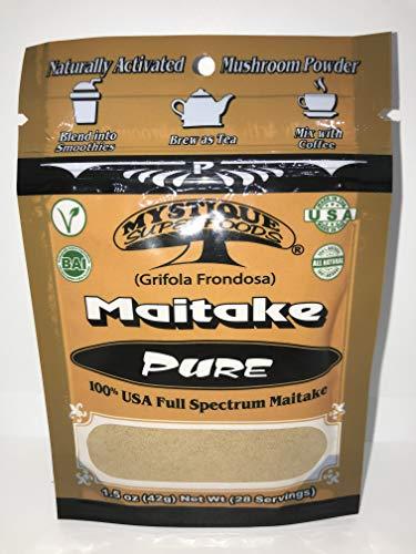 - MAITAKE (Grifola Frondosa)100% Pure Full Spectrum Mushroom Powder