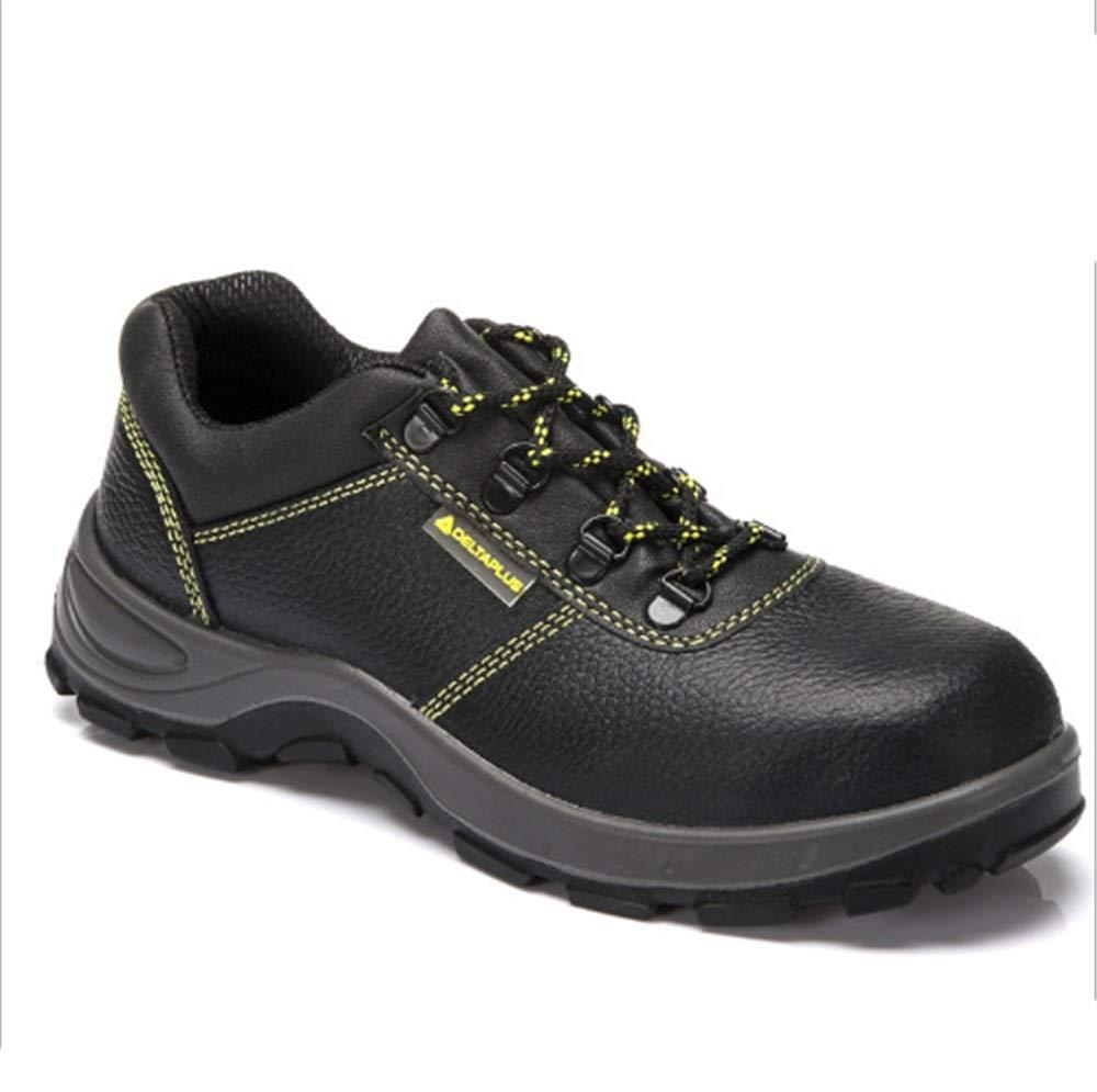 Ywqwdae Antistatische Schweißer-Schuhe Schweißer-Schuhe Schweißer-Schuhe Dauerhafte Punture Besteändige Antidurchdringende Sicherheitsschuhe (Farbe   Schwarz Größe   EU 43) fab1d8