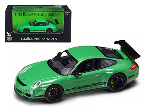 Maisto Porsche 911 997 GT3 RS Green 1/43 Car Model by Road Signature from Maisto