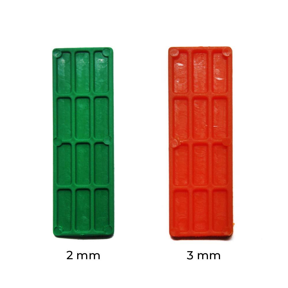 ventanas,tejas//Polietileno// Calzos Calzos para acristalamiento 70x22x2mm