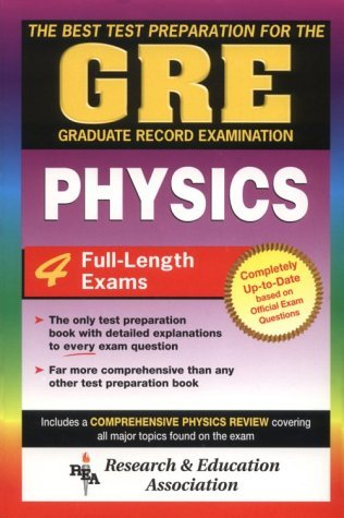 Graduate Record Examination Physics (GRE Program) by Joseph J Molitoris (1993-04-01)