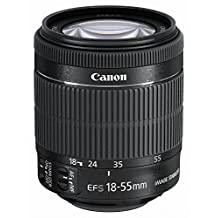Canon standard Zoom Lens EF-S18-55mm F3.5-5.6 IS STM APS-C Corresponding