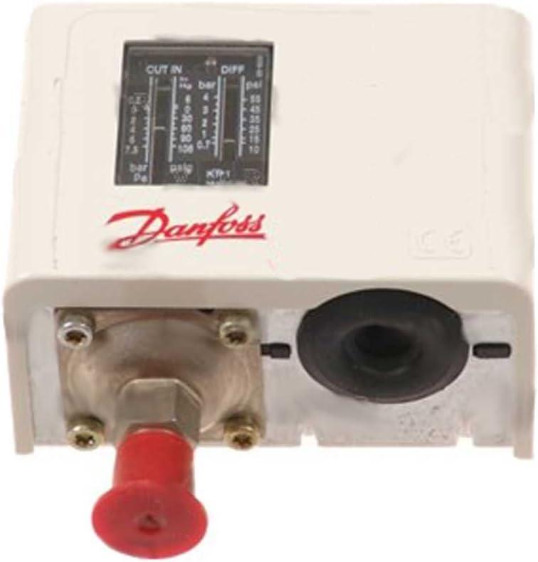 ingresso 1//4/SAE Danfoss KP1 060/ interruttore a pressione Reset /110366 a bassa pressione Man